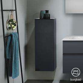 Burgbad Fiumo Halbhoher Schrank mit 1 Tür graphit softmatt