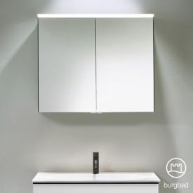 Burgbad Fiumo Spiegelschrank mit LED-Beleuchtung mit 2 Türen