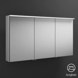 Burgbad Junit Spiegelschrank mit LED-Beleuchtung mit 3 Türen ohne Waschtischbeleuchtung