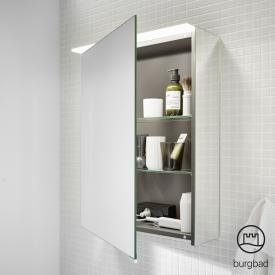 Burgbad Junit Spiegelschrank mit LED-Beleuchtung mit 1 Tür ohne Waschtischbeleuchtung