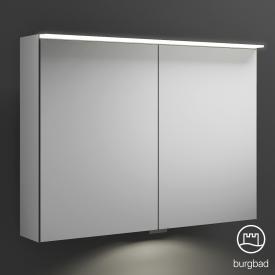 Burgbad Junit Spiegelschrank mit LED-Beleuchtung mit 2 Türen mit Waschtischbeleuchtung