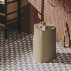 Burgbad Mya Hocker oder Aufbewahrungsbox beige