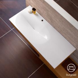 Burgbad Pli Waschtisch rechteckig weiß