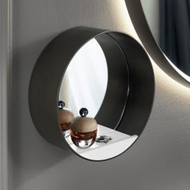 Burgbad Spiegel mit Ablage weiß matt