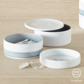 Burgbad SYS30 Aqua Porzellan Schalen Set klein