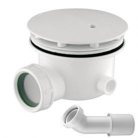 C.G.S. Ablaufgarnitur für Duschwannen mit Ablaufloch Ø 90 mm, Komplett-Set