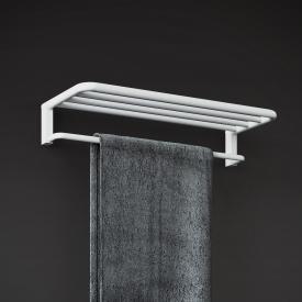 Cosmic Black & White Handtuchablage weiß matt