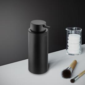 Cosmic Black & White Seifenspender, Standmodell schwarz matt