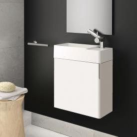 Cosmic fancy Waschtisch mit Unterschrank mit 1 Tür weiß glänzend, weiß matt
