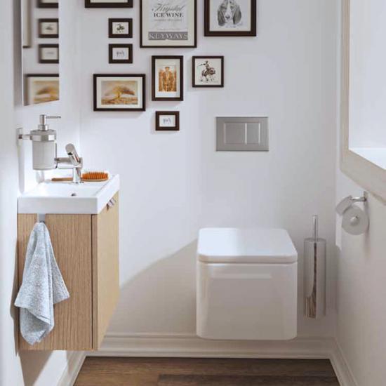 Ideen Für Kleines Gäste Wc gäste wc gestalten 24 ideen für ihre gästetoilette emero
