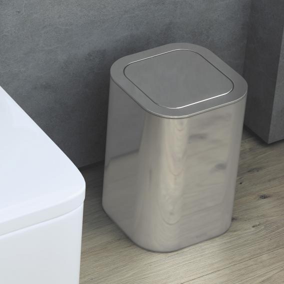 Cosmic Line Abfallbehälter edelstahl poliert
