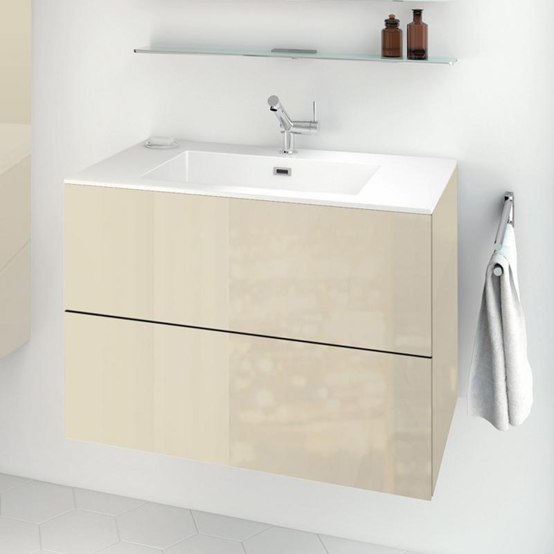 Cosmic block evo Waschtisch mit Waschtischunterschrank mit 2 ...