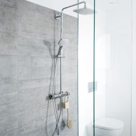 Damixa Pine Thermostat Duschsystem mit Metallschlauch