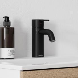 Damixa Silhouet Einhebel-Waschtischarmatur small ohne Ablaufgarnitur, schwarz matt