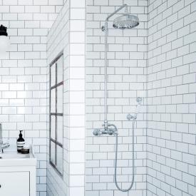 Damixa Tradition Aufputz-Zweigriffmischer Duschsystem