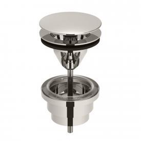 Dornbracht Ablaufgarnitur ohne Druckverschluss platin matt