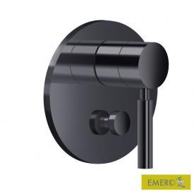 Dornbracht UP-Einhandbatterie mit Umstellung schwarz matt