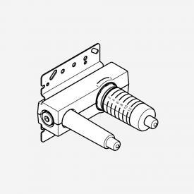 DOVB Unterputz-Wand-Einhandbatterie, Mischer rechts, Vormontage