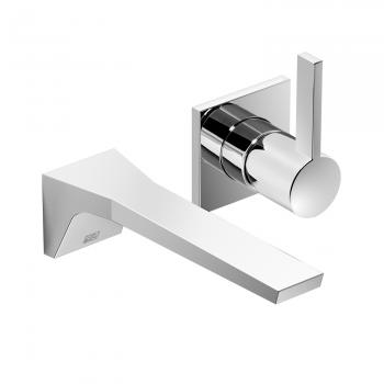 Dornbracht CL.1 Waschtisch-Wand-Einhandbatterie mit Einzelrosetten Ausladung: 200 mm, chrom