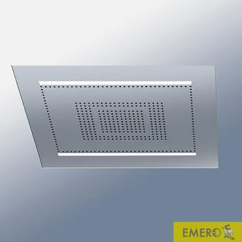 Dornbracht Water Modules Rainsky M Regenpaneel für Deckeneinbau, manuelle Steuerung edelstahl gebürstet