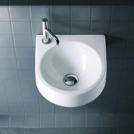 Duravit Architec Handwaschbecken weiß, mit Hahnloch links