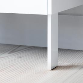 Duravit Brioso Sockelfüße weiß hochglanz