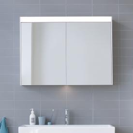 Duravit Brioso Spiegelschrank mit LED-Beleuchtung weiß matt