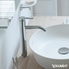 Duravit C.1 Einhebel-Waschtischmischer L chrom, ohne Ablaufgarnitur