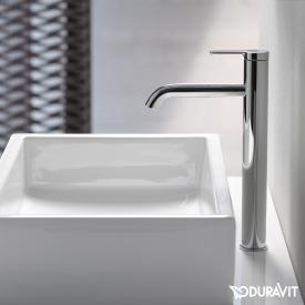 Duravit C.1 Einhebel-Waschtischmischer XL chrom, ohne Ablaufgarnitur