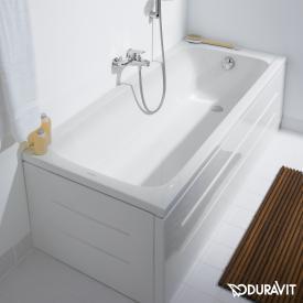 Duravit D-Code Rechteck-Badewanne, Einbauversion