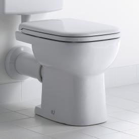 Duravit D-Code Stand-Flachspül-WC weiß