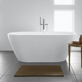 Duravit D-Neo Freistehende Oval-Badewanne weiß, mit Überlauf