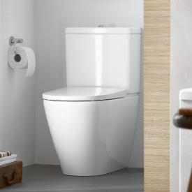 Duravit D-Neo Stand-Tiefspül-WC für Kombination, rimless weiß, mit HygieneGlaze