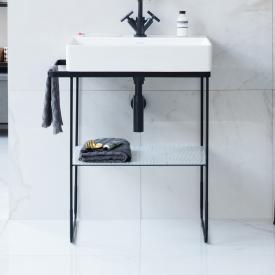 Duravit DuraSquare Metallkonsole bodenstehend für Waschtische schwarz matt