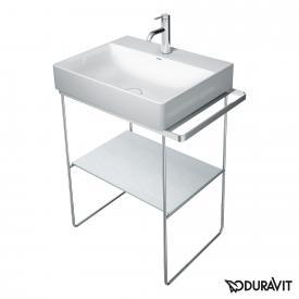 Duravit DuraSquare Metallkonsole bodenstehend für Waschtische Compact chrom