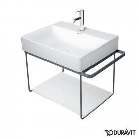 Duravit DuraSquare Metallkonsole wandhängend für Waschtische Compact schwarz matt