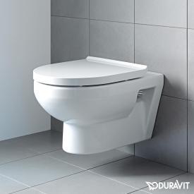 Duravit DuraStyle Basic Wand-Tiefspül-WC Set, rimless, mit WC-Sitz weiß