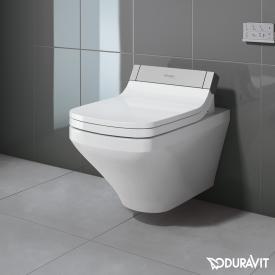 Duravit DuraStyle Wand-Tiefspül-WC für SensoWash®, verlängerte Ausführung ohne Spülrand, weiß