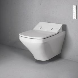 Duravit DuraStyle Wand-Tiefspül-WC mit NEUEM SensoWash® Slim WC-Sitz, Set ohne Spülrand, weiß mit WonderGliss