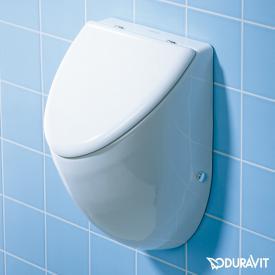 Duravit Fizz Urinal, Zulauf hinten für Deckel, weiß mit WonderGliss