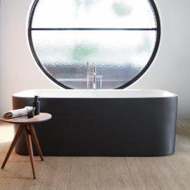 Duravit Happy D.2 Plus Freistehende Oval Badewanne graphit matt