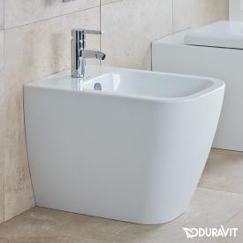 Duravit Happy D.2 Stand-Bidet, back to wall weiß