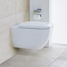 Duravit Happy D.2 Wand-Tiefspül-WC mit WC-Sitz, ohne Spülrand weiß, mit HygieneGlaze