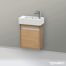 Duravit Ketho Handwaschbeckenunterschrank mit 1 Tür Front europäische eiche / Korpus europäische eiche