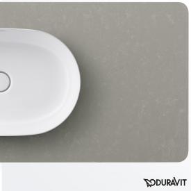 Duravit Luv Konsole für 1 Handwaschaufsatzbecken grau struktur