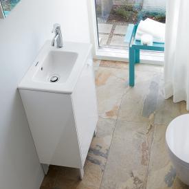 Duravit ME by Starck Handwaschbecken weiß, mit WonderGliss, mit Überlauf