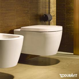 Duravit ME by Starck WC-Sitz Compact weiß matt, mit Absenkautomatik