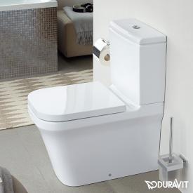Duravit P3 Comforts Stand-Tiefspül-WC für Kombination, rimless weiß, mit WonderGliss