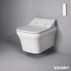 Duravit P3 Comforts Wand-Tiefspül-WC für SensoWash®, rimless weiß