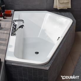 Duravit Paiova 5 Eck-Badewanne, Einbau